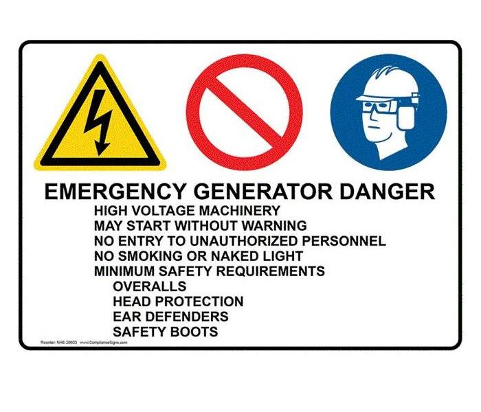Commercial Did You Know...Generator Safety